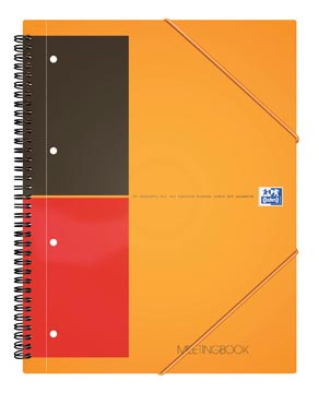 Oxford INTERNATIONAL Meetingbook, 160 pages, ft A4+, quadrillé 5 mm