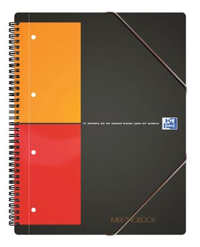 Oxford INTERNATIONAL Meetingbook, 160 pages, ft A5+, quadrillé 5 mm