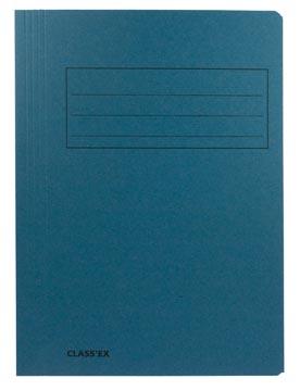Class'ex chemise de classement, bleu, ft 23,7 x 34,7 cm (pour ft folio)