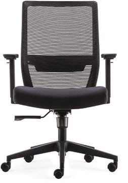 Chaise de bureau Lugano Eco