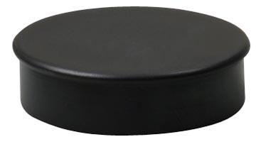 Nobo aimants, diamètre de 30 mm, noir, blister de 4 pièces