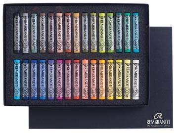 Rembrandt pastel douce, boîte de 30 pastels