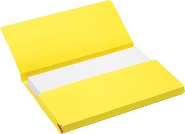 Jalema Secolor Pochette documents pour ft A4 (31 x 23 cm), jaune
