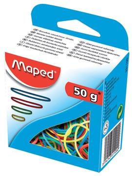 Maped élastiques, boîte de 50 g