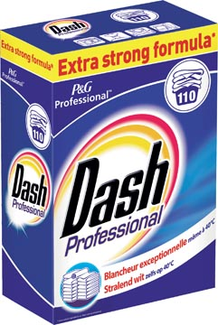 Dash poudre à laver, pour le ligne blanc, 110 doses