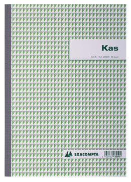 Exacompta manifold caisse, ft A4, néerlandais, dupli (50 x 2 feuilles)