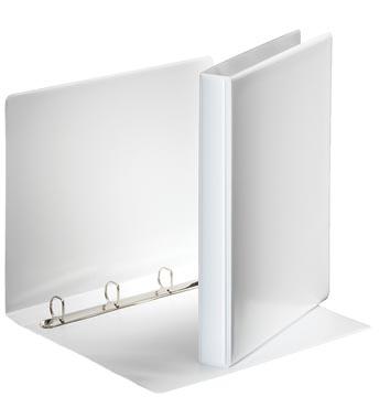 Esselte classeur à anneaux personnalisable, dos de 3,8 cm, 4 anneaux en D de 20 mm, blanc