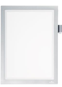 Durable duraframe cadre magnétique Note A4, argent