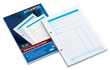 Atlanta by Jalema manifolds note de frais, ft A5, 1 feuille carbone