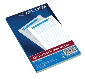 Atlanta by Jalema Orderbook 50 x 2 feuilles, ft 18,5 x 11 cm, 1 feuille carbone