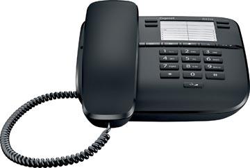 Gigaset DA310 téléphone filaire, noir