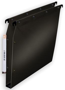L'Oblique dossiers suspendus pr armoires POLYPRO fond 30 mm, noir