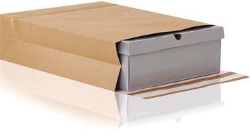 e-Green pochette à fond plat, ft 350 x 450 x 80 + 100 mm, boîte de 200 pièces