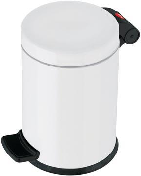 Hailo poubelle pour sanitaire, 4 L, blanc