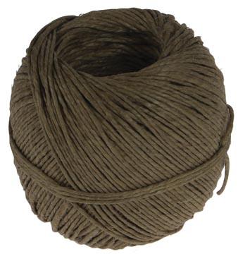 Corde de lin double fil, bobine de 100 g, +/- 90 m
