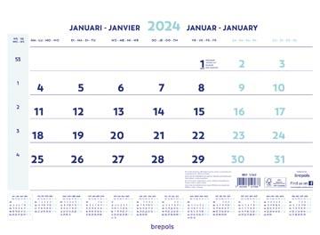 Brepols calendrier mensuel, 2022
