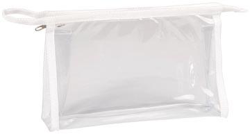 Exacompta trousse transparente, rectangulaire