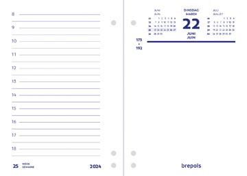 Brepols Sous-main journalier, 2022