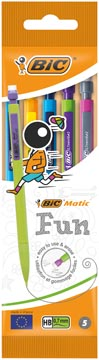 Bic portemine Matic Fun, en couleurs assorties