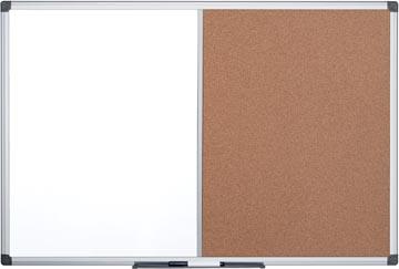 Pergamy tableau duo, tableau en liège et tableau blanc, ft 60 x 90 cm