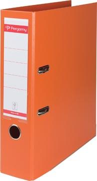 Pergamy classeur, pour ft A4, entièrement en PP, dos de 8 cm, orange
