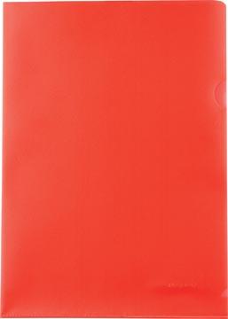 Pergamy pochette coin, ft A4, PP de 120 micron, paquet de 25 pièces, rouge
