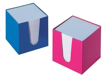 cube-mémo feuillets blancs