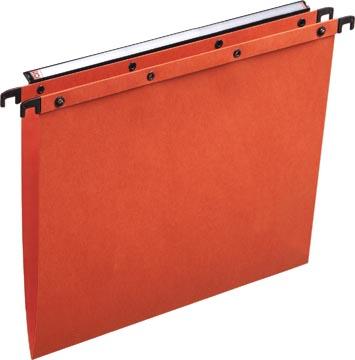 L'Oblique dossiers suspendus pour tiroirs AZO entraxe 330 mm (A4), fond en V, orange