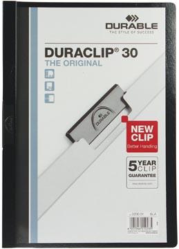 Durable chemise à pince Duraclip Original 30 noir