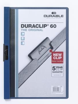 Durable Chemise à pince Duraclip Original 60 bleu foncé