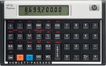 HP calculatrice financière 12C Platinum
