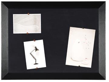 Bisilque Tableau d'affichage Kamashi avec cadre noir