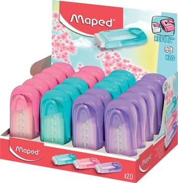 Maped gomme Universal Collector, couleurs pastel