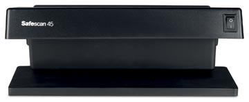 Safescan détecteur de faux billets 45, avec détection UV des contrefaçons