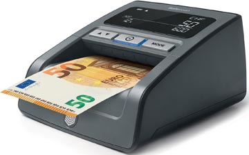 Safescan détecteur de faux billets 155S, avec détection septuple des contrefaçons, noir