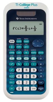 Texas Calculatrice scientifique TI-College Plus