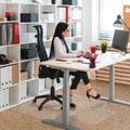 Floortex tapis de sol Valuemat, pour moquette, ft 120 x 90 cm, avec entaille