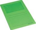 Pergamy pochette coin à fenêtre, paquet de 100 pièces, vert