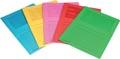 Pergamy pochette coin à fenêtre, paquet de 100 pièces, en couleurs assorties vives