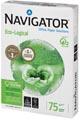 Navigator Eco-Logical papier d'impression, ft A4, 75 g, paquet de 500 feuilles